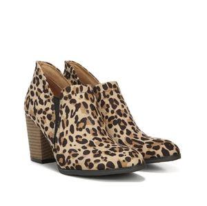 Dr. Scholl's leopard print booties